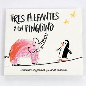 DISCO Tres elefantes y un pingüino