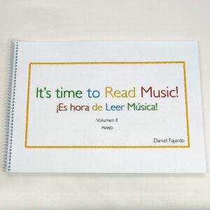 LIBRO Es hora de leer música Vol 2